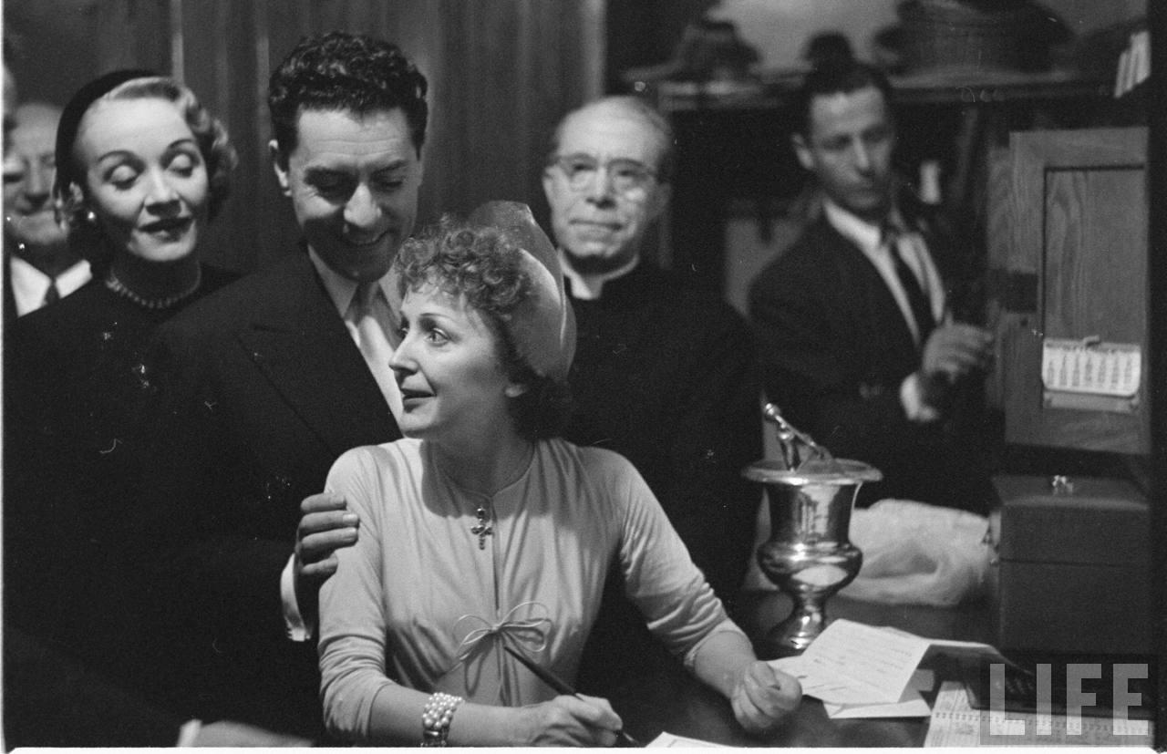 Edith Piaf 1940s Edith Piaf 194