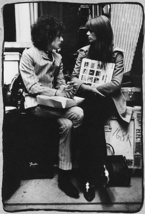 Bob Dylan & Françoise Hardy