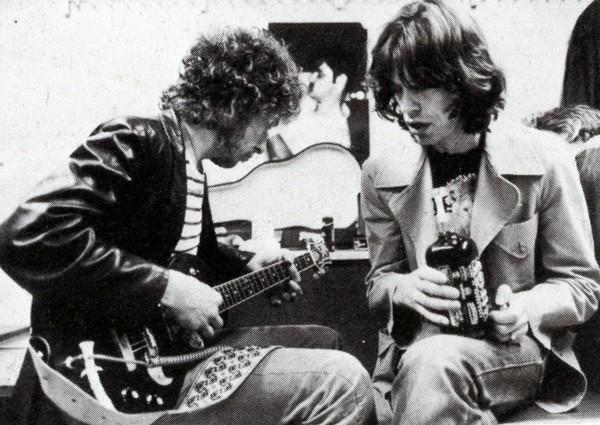 Mick Jagger & Bob Dylan